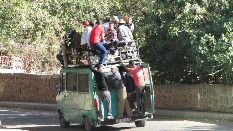 Le bus marocain