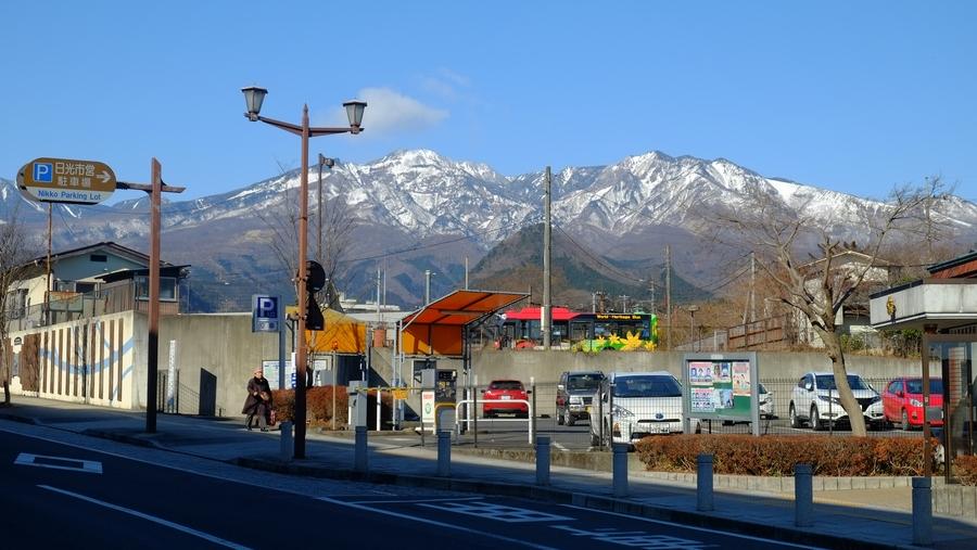 Nikkō, entourée de montagnes